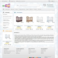 Создание интернет-магазин Mirmybaby г. Нижний Новгород